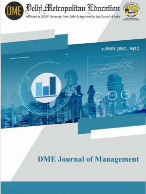 DME Journal of Management Cover Page